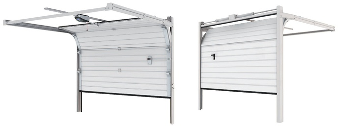 Sekciové garážové brány