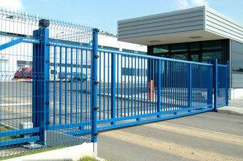 Priemyselné brány a bránky sa vyznačujú vysokou stabilitou ...