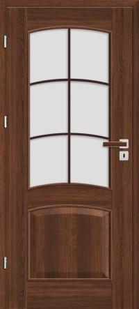 Interiérové dvere ERKADO -- rámové STILE -- DÁLIA 1