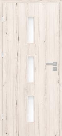 Interiérové dvere ERKADO -- doskové -- ANSEDONIA 1 / ŠEDÝ DUB ST CPL