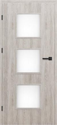 Interiérové dvere ERKADO -- doskové -- MENTON 1 / ŠEDÝ DUB GREKO