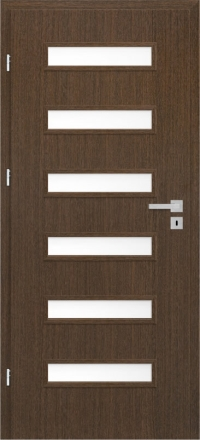 Interiérové dvere ERKADO -- doskové -- SORANO 1 / WENGE ST CPL
