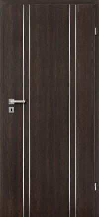 Interiérové dvere ERKADO -- doskové -- UNO LUX 1 / Wenge CPL