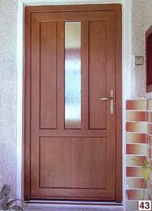 Plastové vchodové dvere GEALAN