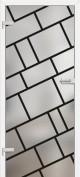 Interiérové dvere ERKADO -- sklenené GRAF 3