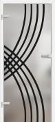 Interiérové dvere ERKADO -- sklenené GRAF 7