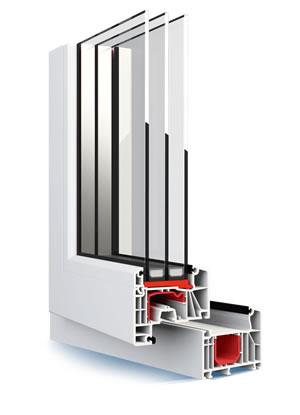 Plastové okná ALUPLAST IDEAL 7000 NEW