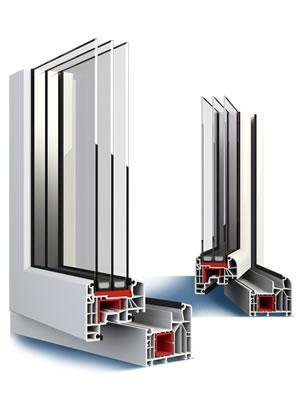 Plastové okná ALUPLAST IDEAL 8000