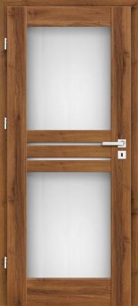 Interiérové dvere ERKADO -- rámové STILE -- JUKA 1