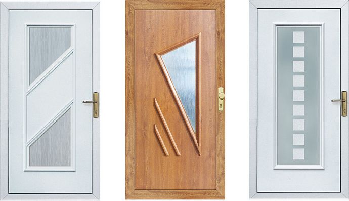 Plastové vchodové dvere INCON