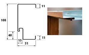 Vchodové dvere WIKED PREMIUM - zárubňa 11